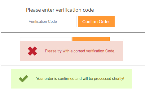 Magento order verification by sms extension