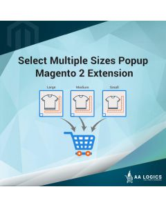 Select Multiple Sizes Popup Magento 2 Extension