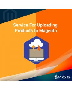 Service For Uploading Products In Magento